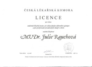 MUDr. Julie Rauchová, Praktický lékař Teplice